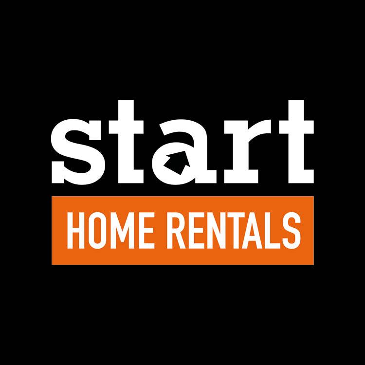 Personeelshuisvesting Start Home Rentals zwart logo